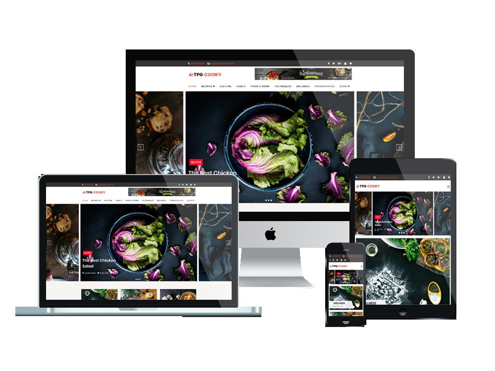 TPG Cooky – Best Premium Responsive WordPress Food Blog Theme 3