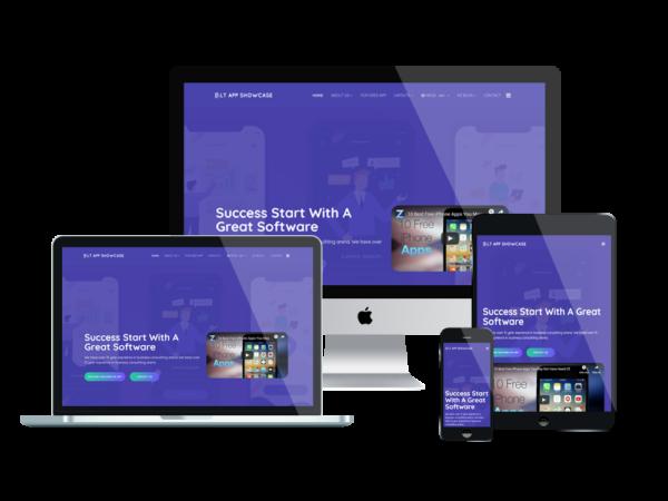 LT App Showcase - Premium Application Showcase WordPress theme 1
