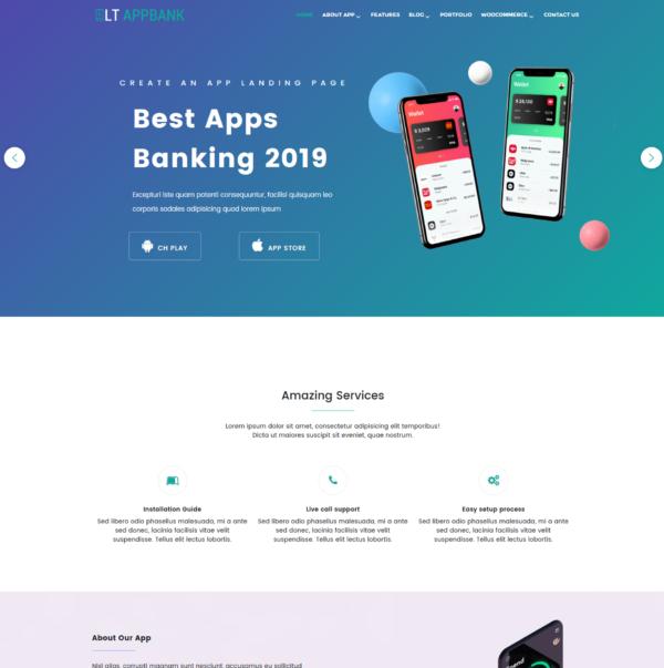 LT AppBank – Premium App WordPress theme 2