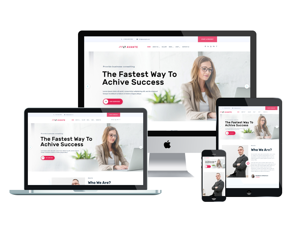 LT Avante - Premium Corporation / Business WordPress theme 2