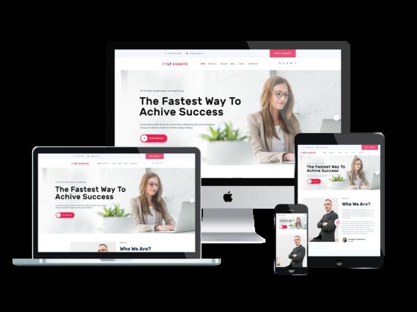 LT Avante - Premium Corporation / Business WordPress theme 1