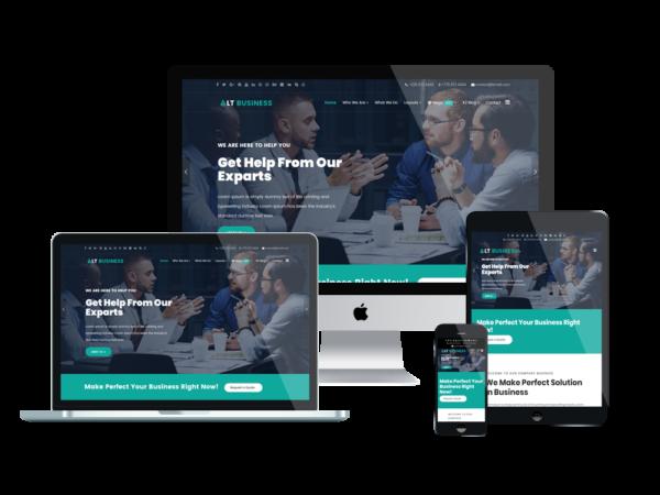LT Business - Premium Responsive Corporation / Business WordPress Theme 1