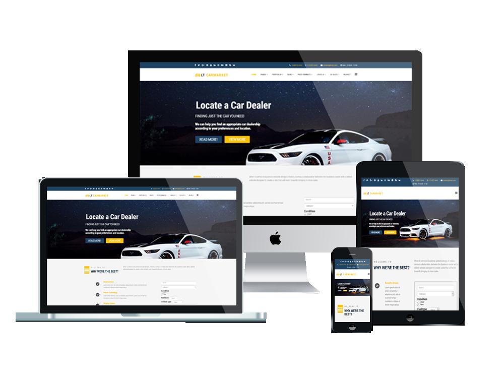 LT Carmarket – Car Dealer WordPress Theme 3