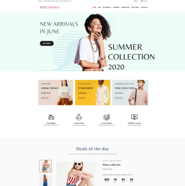 lt-clothes-free-responsive-wordpress-theme