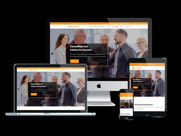 LT Company – Premium Responsive Company WordPress theme 1