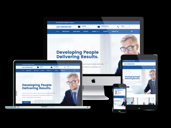LT Corporation - Premium Company / Corporation WordPress theme 1