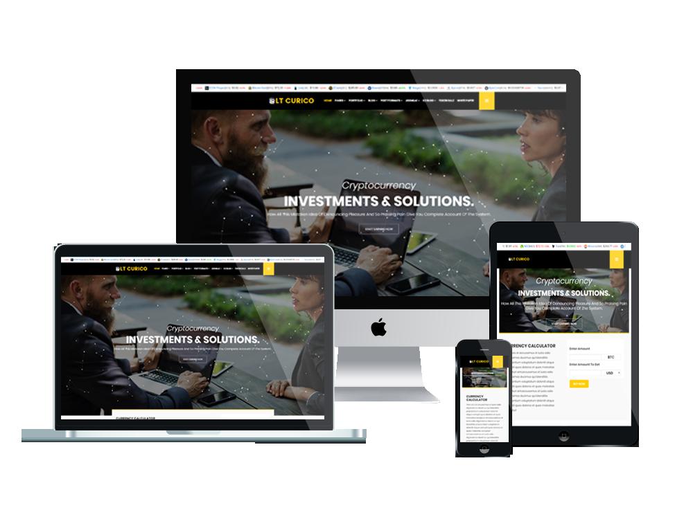 LT Curico – Business WordPress theme 3