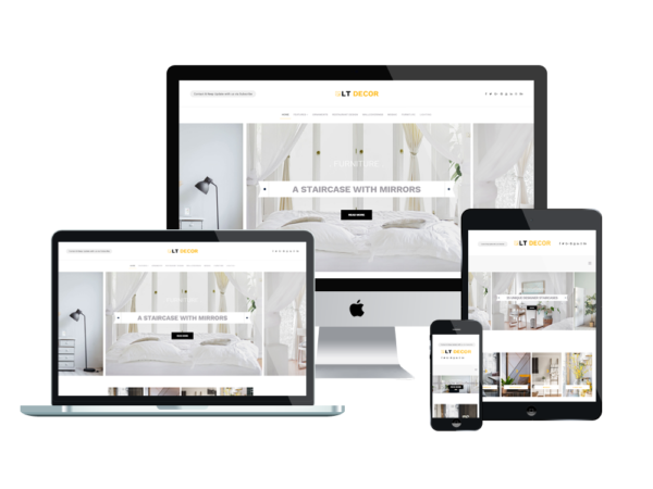 LT Decor – Premium WordPress Interior Decorating Themes 1