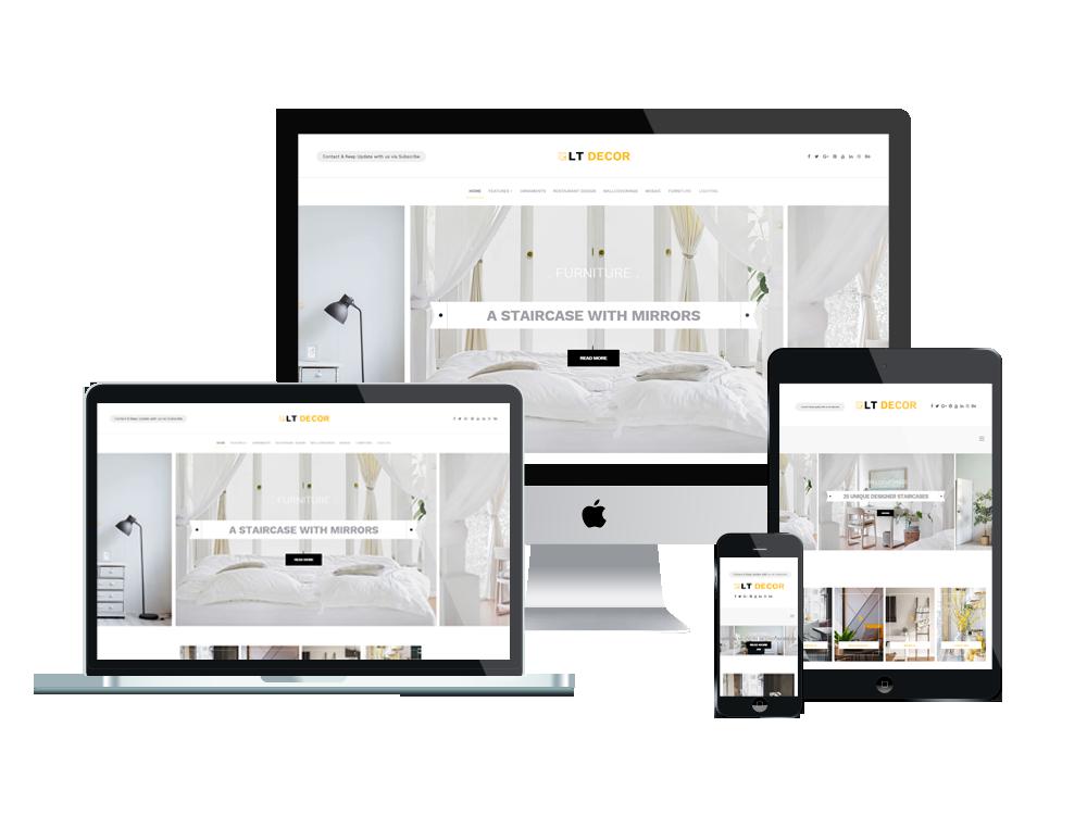 LT Decor – Premium WordPress Interior Decorating Themes 2