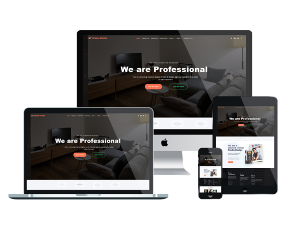 LT Design Studio - Premium Creative / Design Studio WordPress theme 1