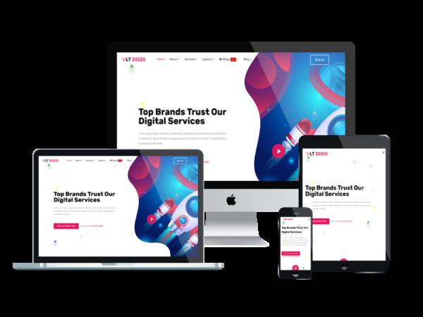 LT Digix – Premium Marketing WordPress theme 1