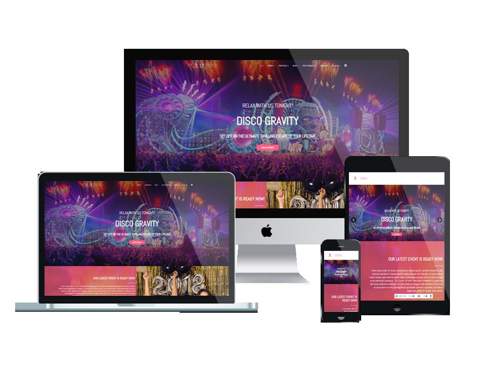 LT Disco – Premium music wordpress theme 2