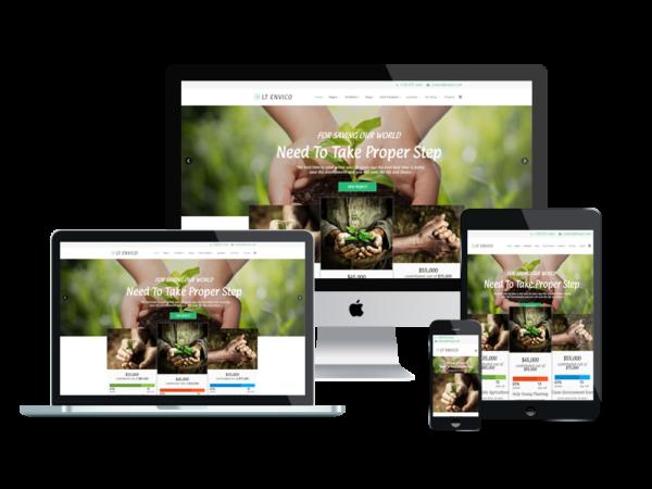 LT Envico – Environment WordPress Theme 1