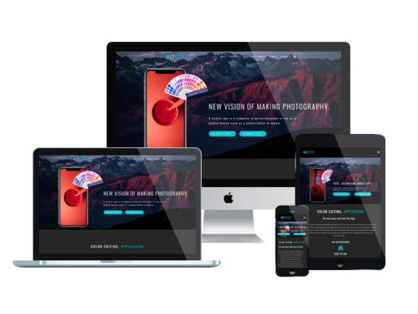 LT Foto – Premium WordPress App theme 1