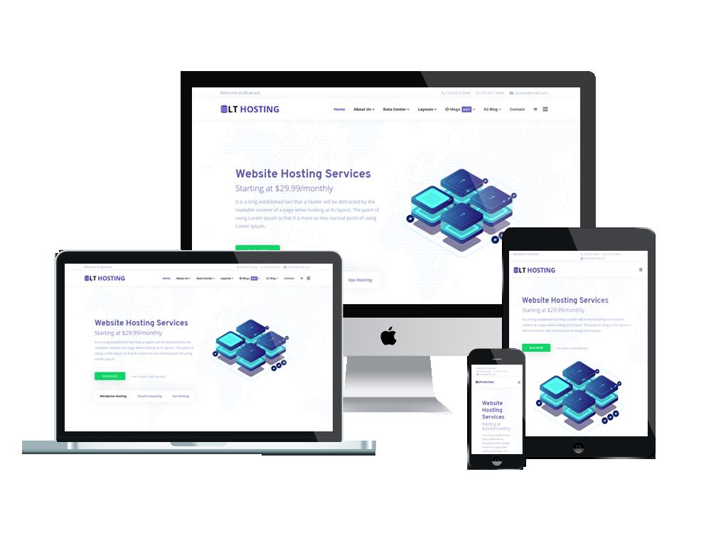 LT Hosting - Premium Server / Hosting WordPress theme 3
