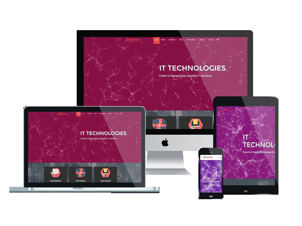LT Inteco – IT Company WordPress Theme 2
