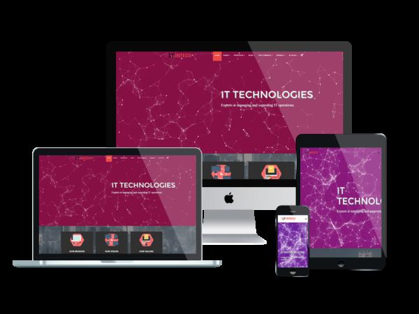 LT Inteco – Premium One page IT Company WordPress Theme 1