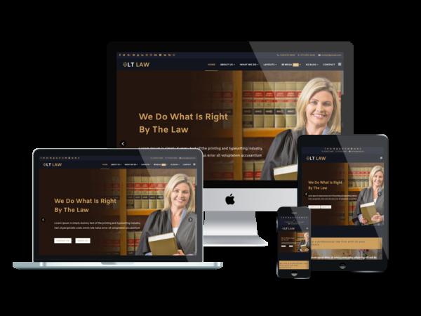 LT Law - Premium Responsive Legal / Law Firm WordPress theme 1