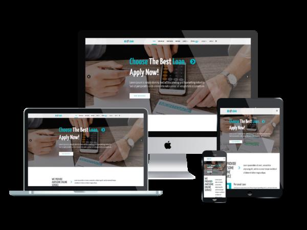LT Loan – Premium Financial Services WordPress theme 1