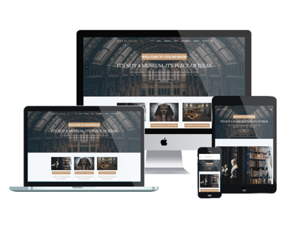 LT Museum – Museum WordPress Theme 1