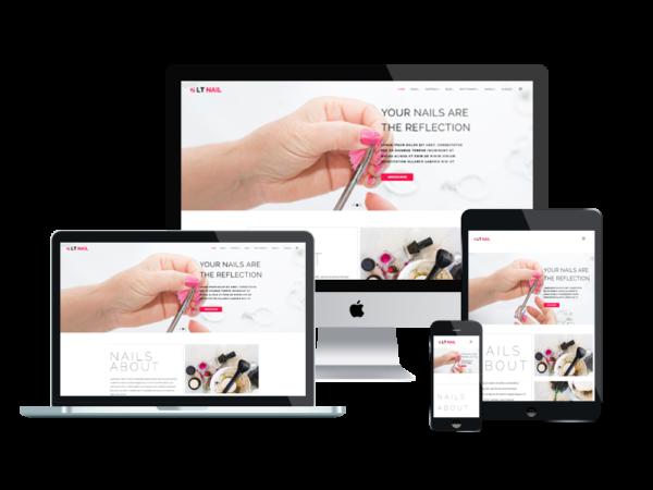 LT Nail – Beauty salon wordpress theme 1