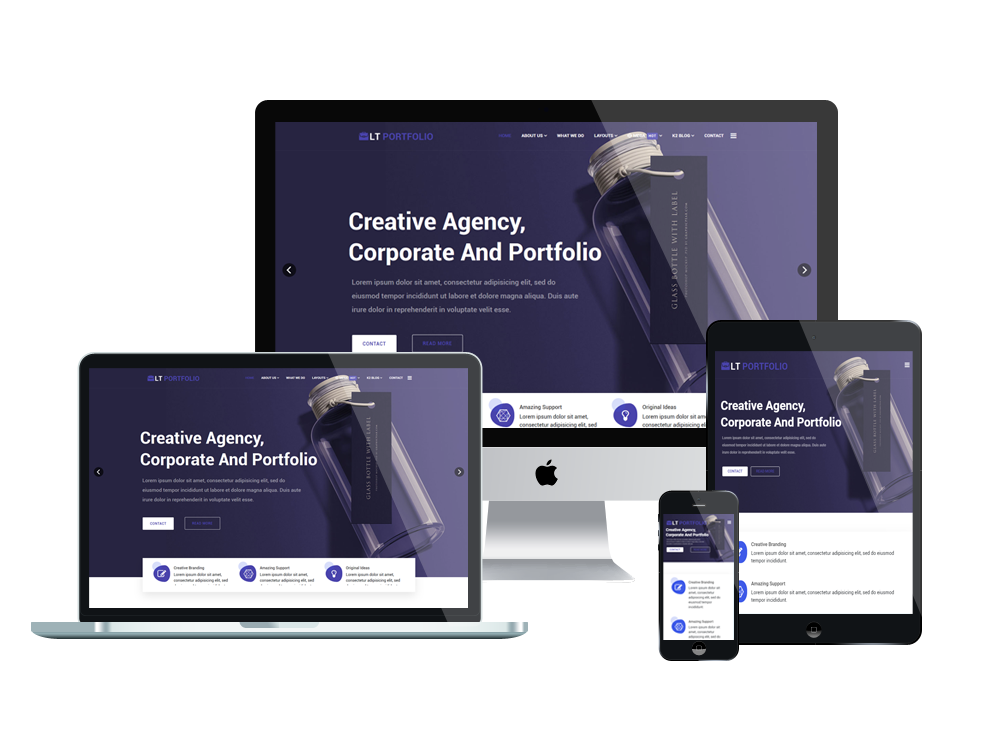 LT Portfolio - Premium Product Showcase / Portfolio WordPress theme 2