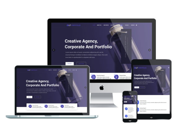 LT Portfolio - Premium Product Showcase / Portfolio WordPress theme 1