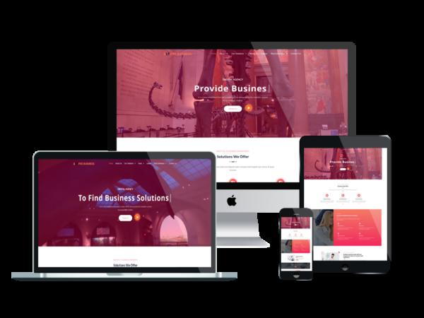 LT Pro Business – Business WordPress Theme 1