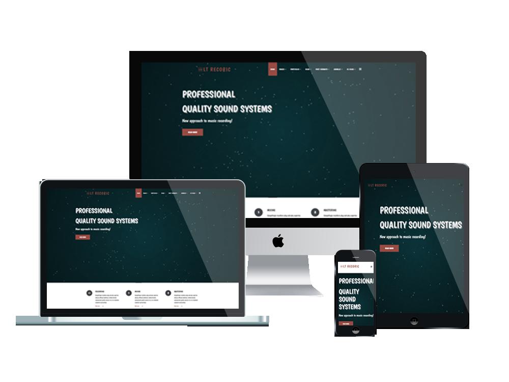 LT Recoric – Music WordPress Theme 2