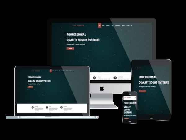 LT Recoric – Music WordPress Theme 1