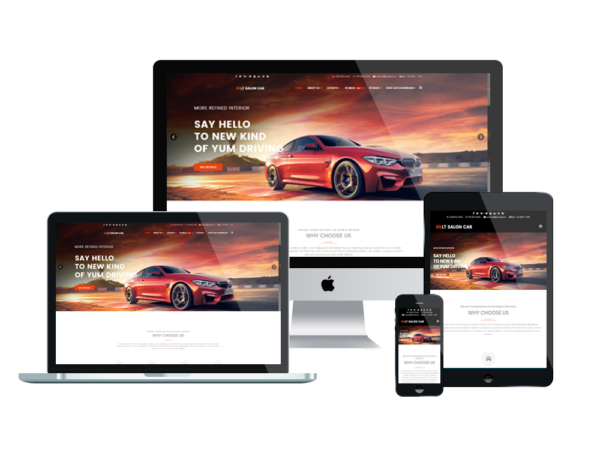 LT Salon Car - Premium Salon Car WordPress theme 1