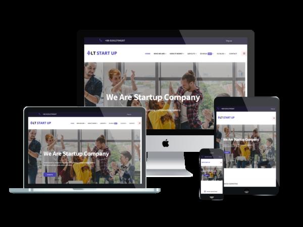LT Start Up - Best Premium Business WordPress theme 1