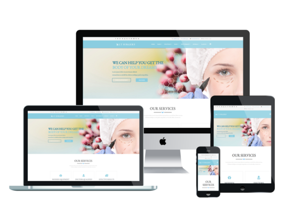 LT Surgery – Premium medical wordPress theme 1