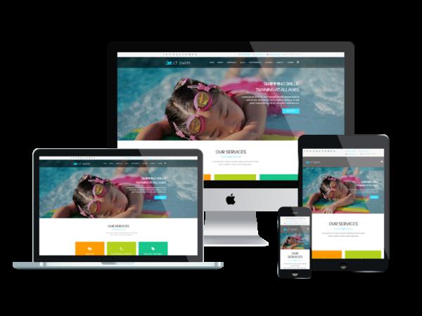 LT Swim – Swimming WordPress Theme 1