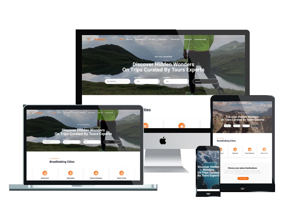 LT Travel - Premium Hotel / Travel WordPress theme 2
