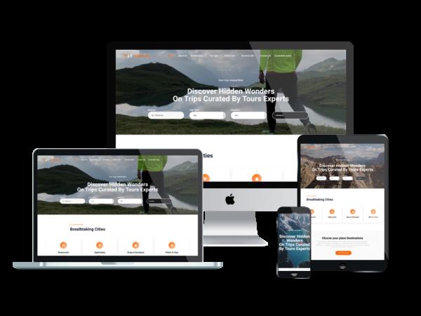 LT Travel - Premium Hotel / Travel WordPress theme 1