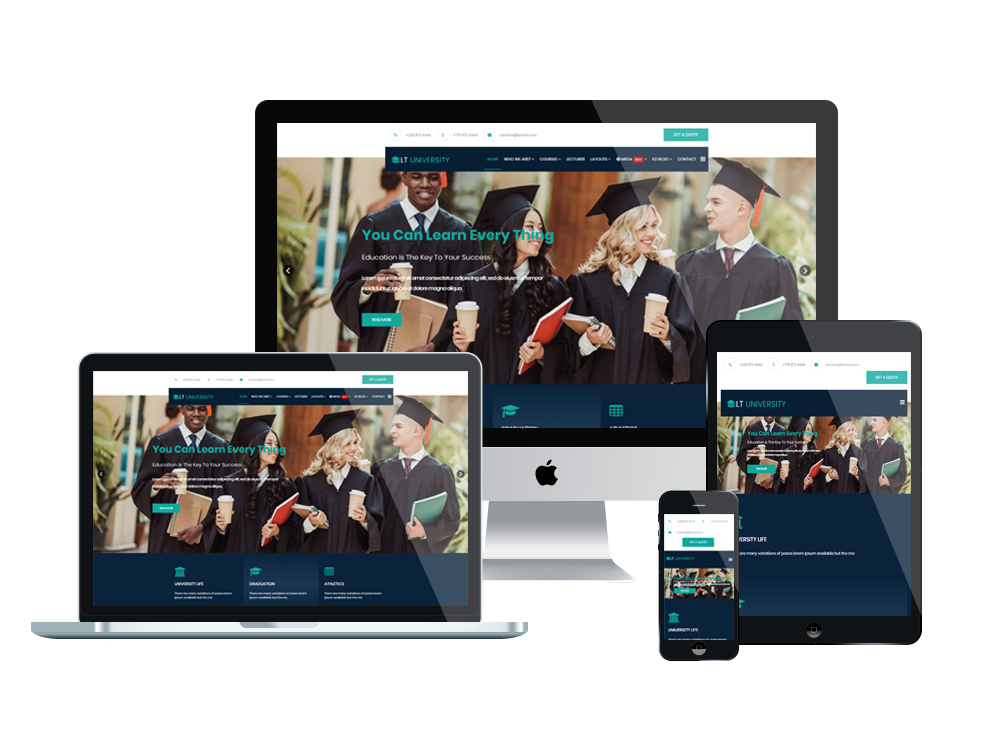 LT University - Premium College / University WordPress theme 2