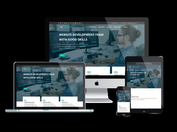 LT Web Design - Premium Web Development WordPress theme 1