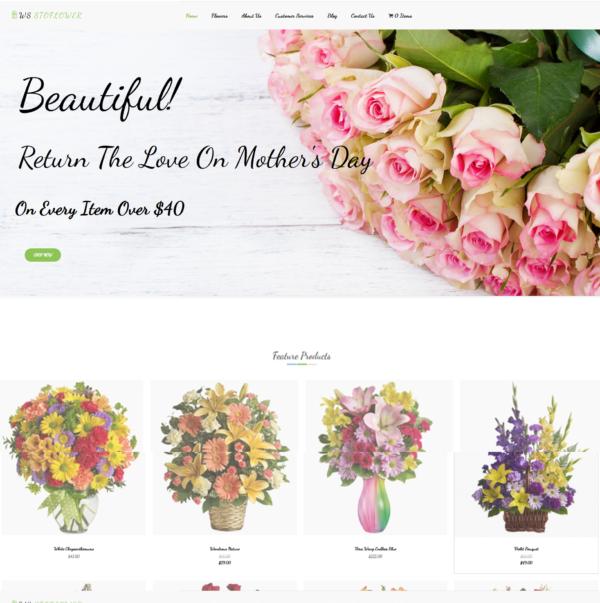 WS Stoflower – Flowers WooCommerce WordPress theme 2