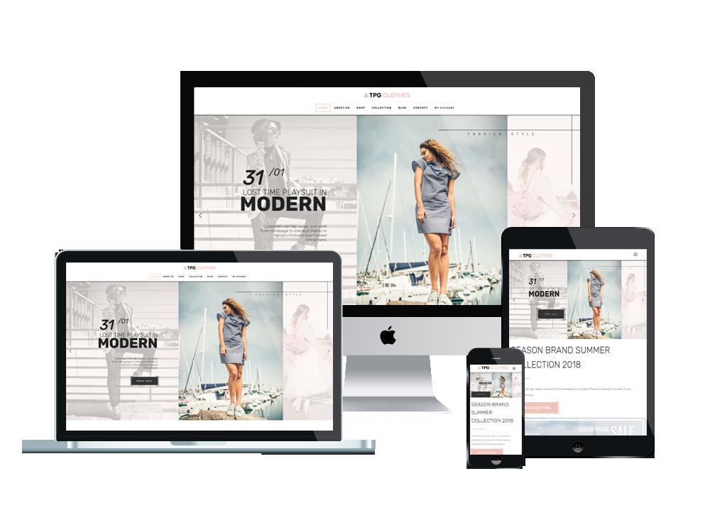TPG Clothes – Best Premium Responsive Clothing WordPress theme 3