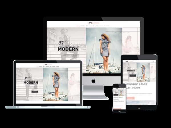 TPG Clothes – Best Premium Responsive Clothing WordPress theme 1