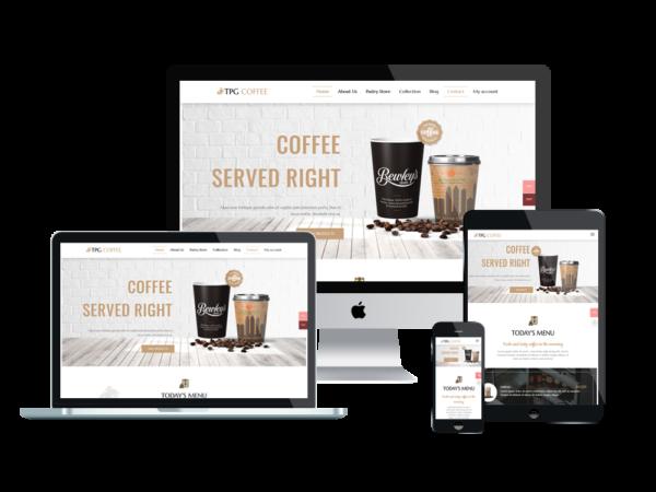 TPG Coffee – Best Premium Responsive Beverage Website template 1