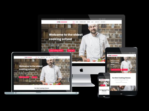 TPG CookBook – Best Premium Responsive Kitchen WordPress theme 1