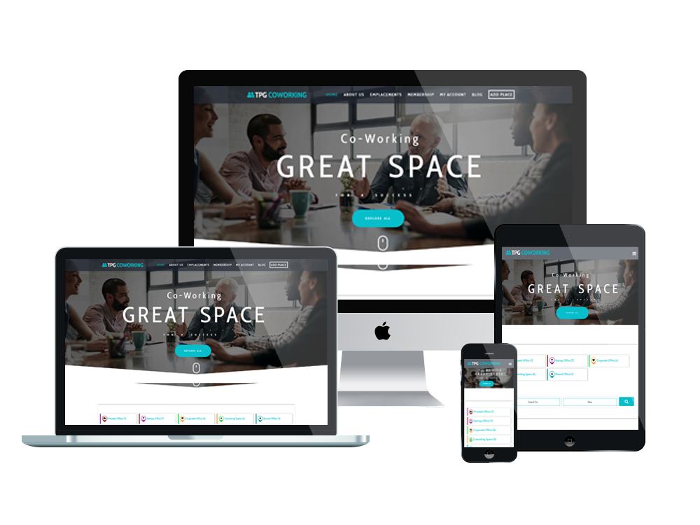 TPG CoWorking – Best Premium Responsive Coworking WordPress theme 3
