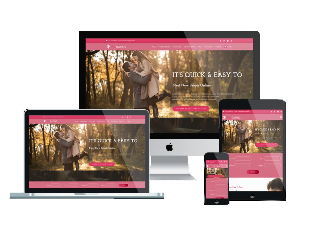 TPG Dating – Best Premium Responsive WordPress Dating theme 3