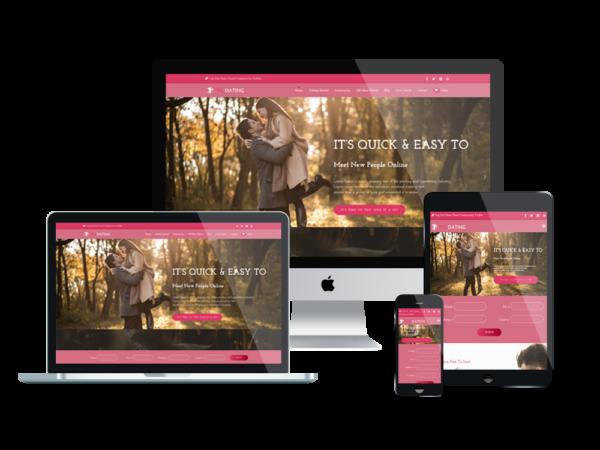 TPG Dating – Best Premium Responsive WordPress Dating theme 1