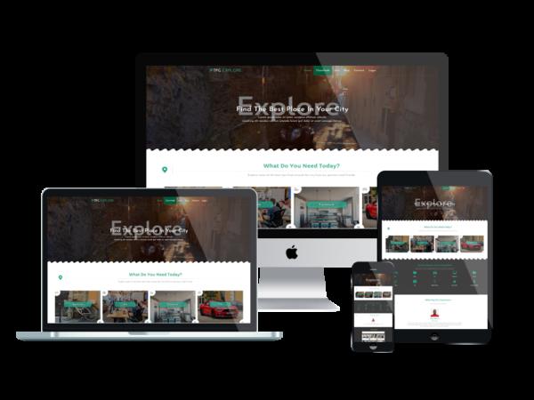 TPG Explore – Best Premium Responsive Classified WordPress theme 1