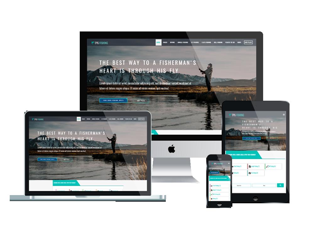 TPG Fishing – Best Premium Responsive WordPress Fishing theme 3