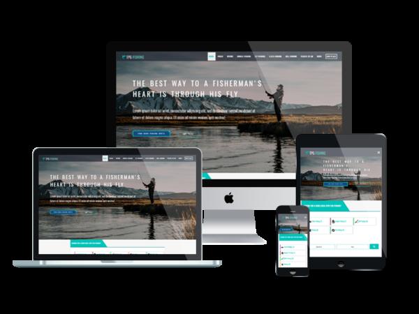 TPG Fishing – Best Premium Responsive WordPress Fishing theme 1