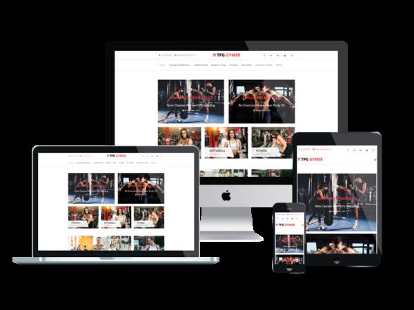 TPG Gymer– Best Premium Responsive WordPress Fitness theme 1